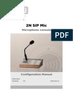 2n Sip Mic User Manual en 1.0