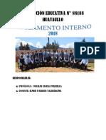 Reglamento Interno 2018 Huataullo