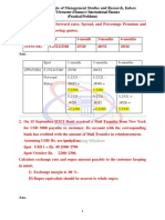 BBA VI Sem. - International Finance - Practical Problems