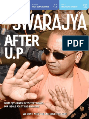 Swarajya April Issue Final | Agriculture | Computing And