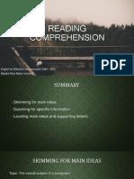 MAIN Reading Comprehension