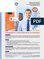 Presentacion Curso Certificación ITILv3 - PeopleCert - 2018