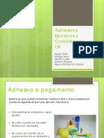 Adhesivos Epóxicos y Curables Con Uv