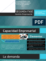 Segunda Fase Gestion Empresarial