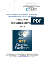 Catalogue Formation 2018