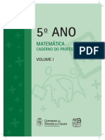 5 Ano Matematica Caderno Do Professor Vol 1