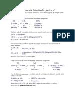 Ejercicios Estequiometría II