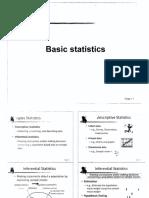 1.0 Basic Statistics