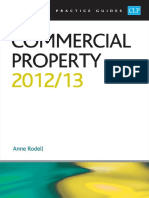 College of Law Publishing Commercial Property 2012-2013 (2013)