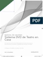 Manual LG Teatro en Casa HT306SU