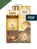 Etiquetas de Pan