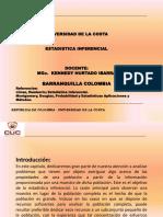 Diapositiva de Estadistica Inferencial (Cuc) 1