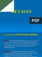 Metales UAI 2010