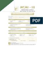 Hoja de Respuestas Inventario Clínico Multiaxial de Millon (MCMI-III).pdf