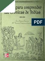 EVA BRAVO-GARCÍA & M.ª TERESA CÁCERES-LORENZO - Claves para comprender las crónicas de Indias.pdf