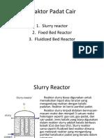 Reaktor Padat Cair