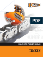 Timken Drives Roller Chain Catalog 10598