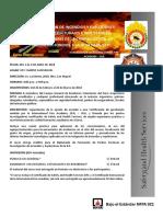 Curso de Investigacion de Incendios y Explosiones Upc Nocturno 2 Al 6 de Abril