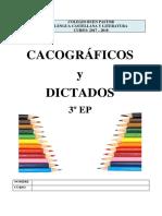 Cacografico y Dictados 3EP 17-18