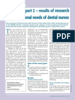 Dental Nursing Journal - Jan 2015