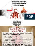 Circulatory System Cardiovascular and Lymphatic