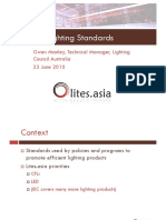 Lighting Standards - Owen Manley
