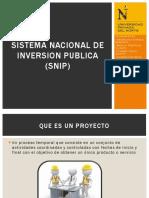 Sistema Nacional de Inversion Publica (Snip)
