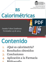 Medidas Calorimétricas