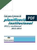 Metodología planificación institucional 2012 SEGEPLAN.pdf