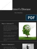 Genetic Disorder Project_ Alzheimer's Disease