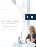 Ransomware_Four Ways to Protect Data Now