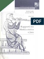 Jazz e Musiche Del Mondo