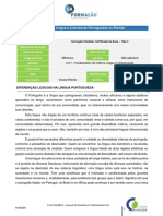 CLC7 Lingua Portuguesa No Mundo Introdução Ao Tema