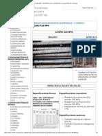 ACERO 420 MPA - Especificaciones Técnicas Para Construcción de Viviendas