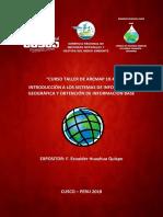 Introducción a Los Sistemas de Información Geográfica y Obtención de Información Base
