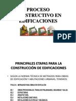 Proceso Constructivo en Edificaciones 3ra Parte