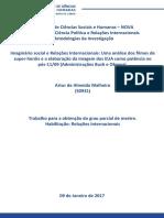 Plano de Investigação - Artur de Almeida Malheiro - Mestrado Cpri