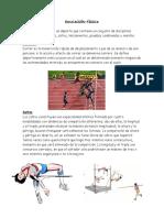 Educación Física Saltos Lanzamientos Pruebas Combinadas