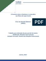 Trabalho Mestrado Artur de Almeida Malheiro - Hri