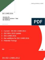 ISO 13485 Update