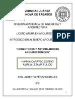 conectores y articuladores formales en la arquitectura