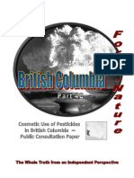 Force of Nature -- British Columbia Conspiracy -- 2009 12 16 -- Public Consultation -- 3 -- Issues -- Failure of IPM -- MODIFIED -- PDF -- 300 Dpi