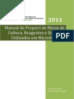 Manual de Preparo de Meios de Cultura e Soluções Para Microbiologia