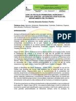 Evaluación de Frutales Promisorias, Huérfanas y Subutilizadas Que Ofrecen Las Especies Vegetales Del Departamento Del Putumayo