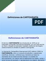 CartografíaRevisiónConceptosDefiniciones