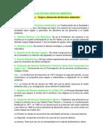 Guía de Estudio Derecho Ambiental