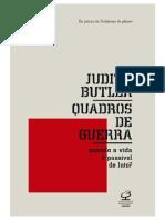 BUTLER, Judith. Introdução-Vida Precária, Vida Passível de Luto.in- Quadros de Guerra.2015