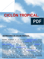 Ciclon Tropical