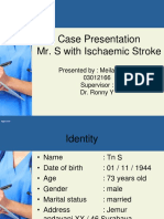 Case Presentation Ischemic Stroke Tn S