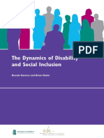 The Dynamics of Disability and Social Inclusion